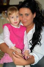 ...najmenšia družička Simonka...