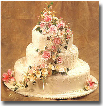 Náš veľký deň bude 9.mája 2009 - krásna torta