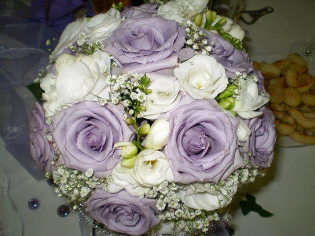 Detaily našej svadby - detail svadobnej kytice