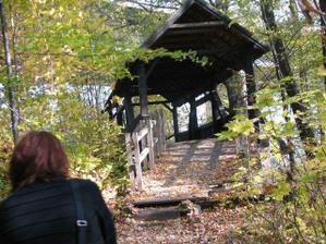 dřevěnej most s Jankou :-)