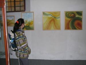 výstava obrazů a fotek ve staré synagoze Len zaujala