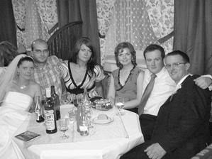 ...ja, Miloško s Dankou, Valika s Maťom a môj Tomáško...