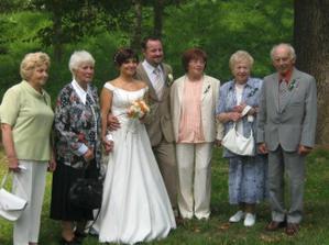 Babičky a děda!