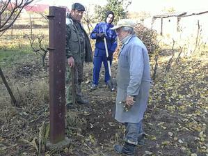 30.10.2010 čistenie pozemku a upratovanie