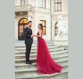 v pozadí viedenský Belvedere