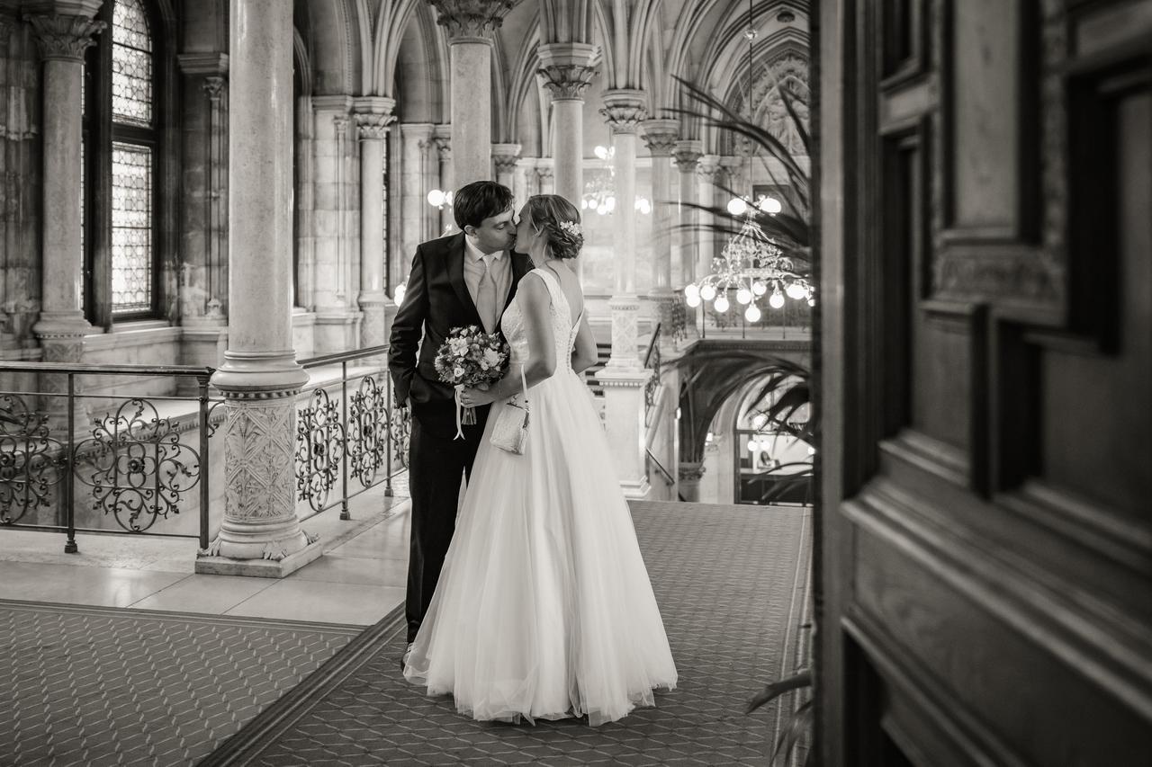Maria & Marcus (Rathaus Wien) - Obrázok č. 1
