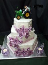 tak takúto svadobnú tortu som ešte nevidela..:D