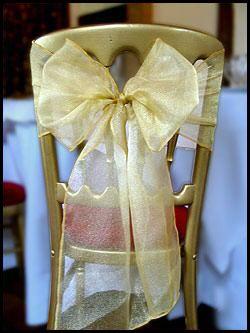 Doplnky na SVADBU - dobre to vyzera na stoličke..:):)