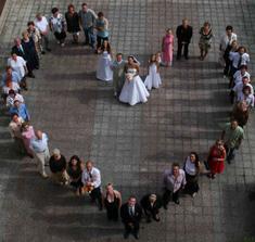 takto chceme zvěčnit svatebčany