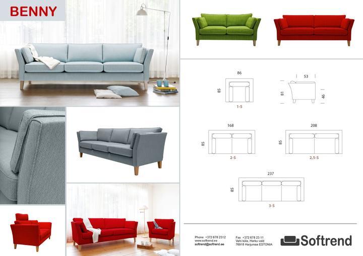 Vybavení-vybráno - Pravděpodobně budoucí sedačka - přemýšlím o té modré v kombinaci s červeným křeslem...