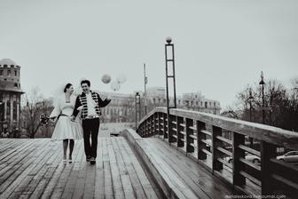 Déšť a balónky, tak to možná bude naše svatba :-)