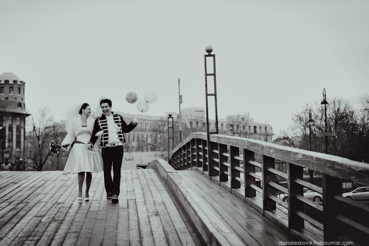 A když bude pršet... - Déšť a balónky, tak to možná bude naše svatba :-)