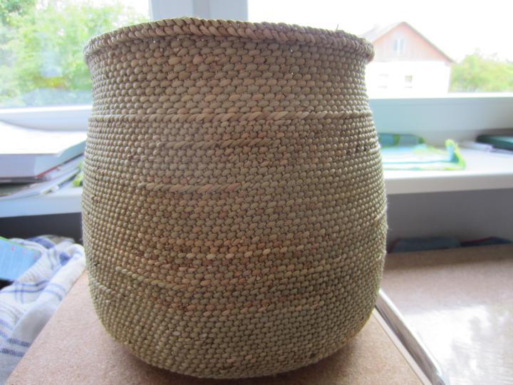 Vybavení-vybráno - Náš fair trade koš na brambory :)