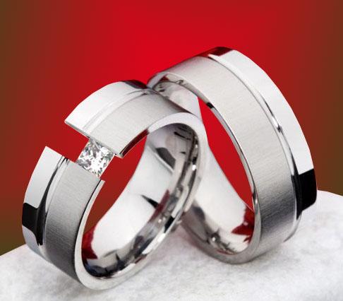 snubniprsteny - Snubní prsteny z Titanu JT991