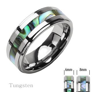 snubniprsteny - Wolframové snubní prsteny R-TU-102