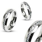 Snubní prsteny z chirurgické oceli R-H1570