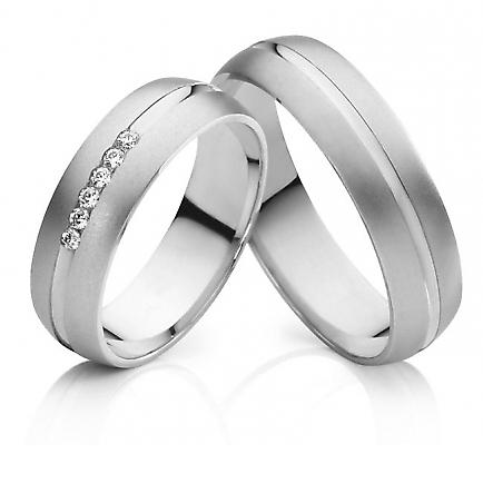 snubniprsteny - Snubní prsteny z chirurgické oceli OKU-52