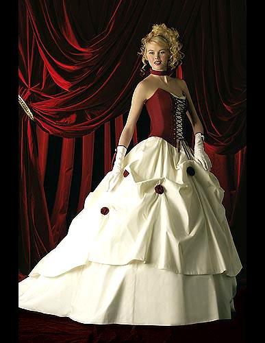 Svatební šaty - růžové i červené až do bordó - Obrázek č. 17