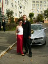 ja a moj drahy na sesterkinej svadbe