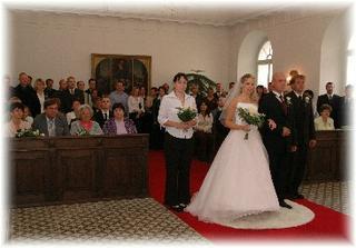 Naši svatební hosté...