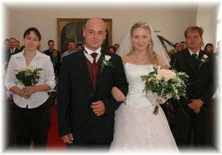 Už jako šťastní novomanželé...