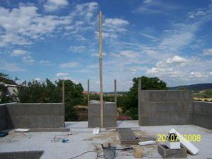 Štíty budou vysoké 4,65 m