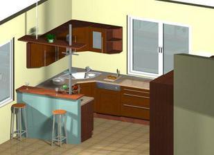 1. návrh naší kuchyňky