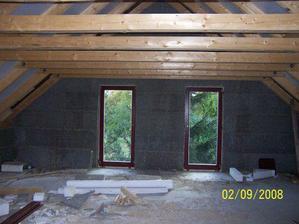 Balkonovky v podkroví