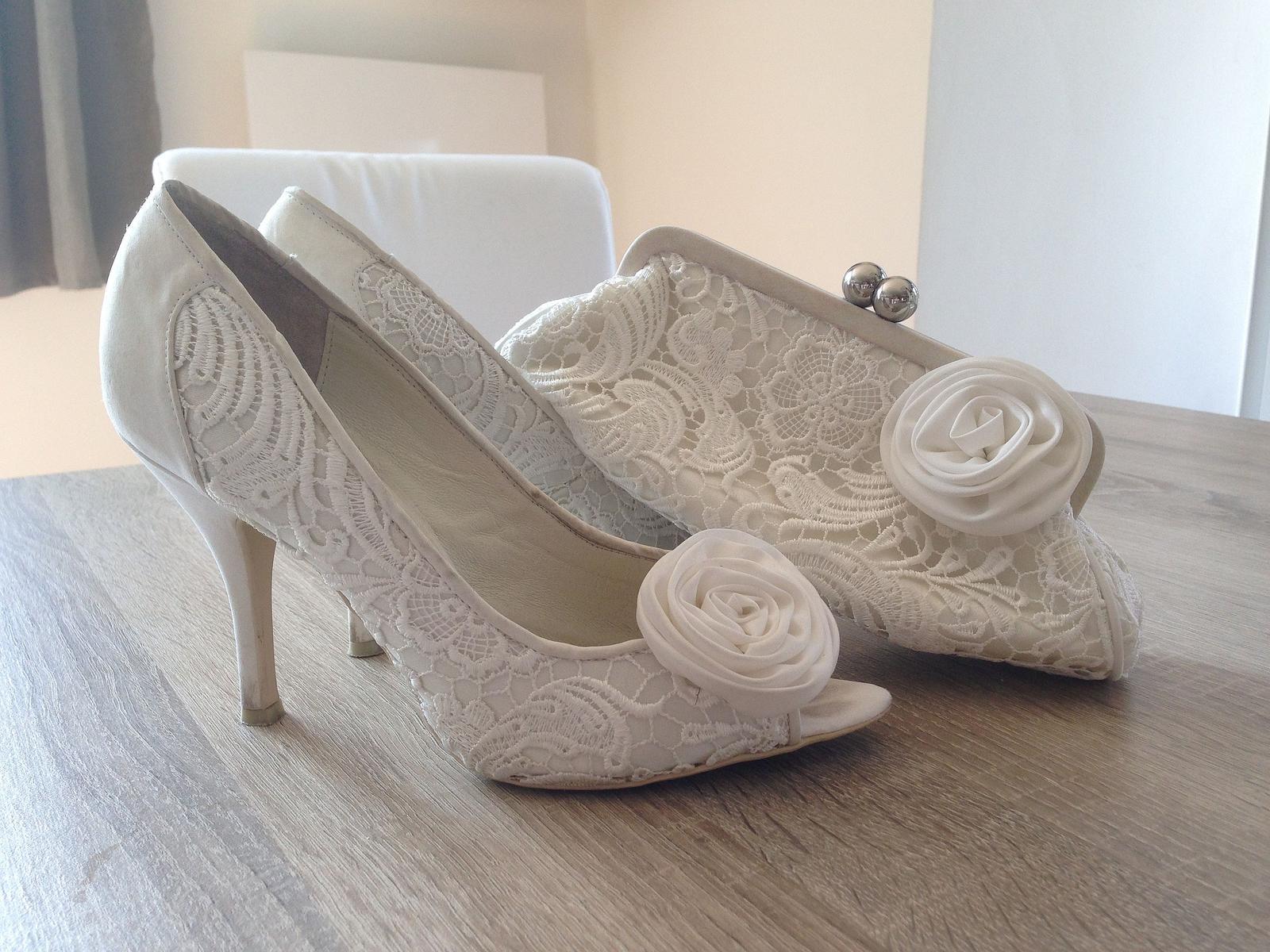 Menbur Maria boty a kabelka pro nevěstu - Obrázek č. 1