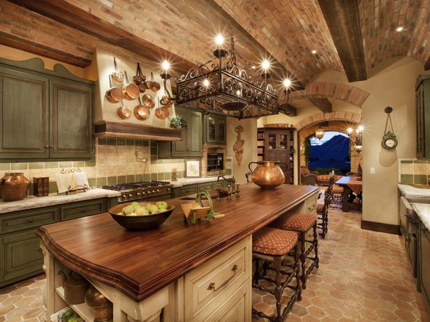 Rustikàlna kuchyňa, to je teplo domova - Strop <3