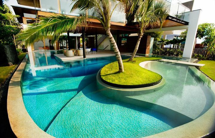 Dom s bazenom, alebo bazen s domom? - Obrázok č. 27