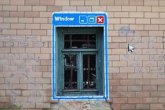 kazdy spravny dom, musi mat aj okno