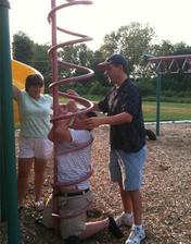 preliezku pre deti treba najskor vyskusat :)