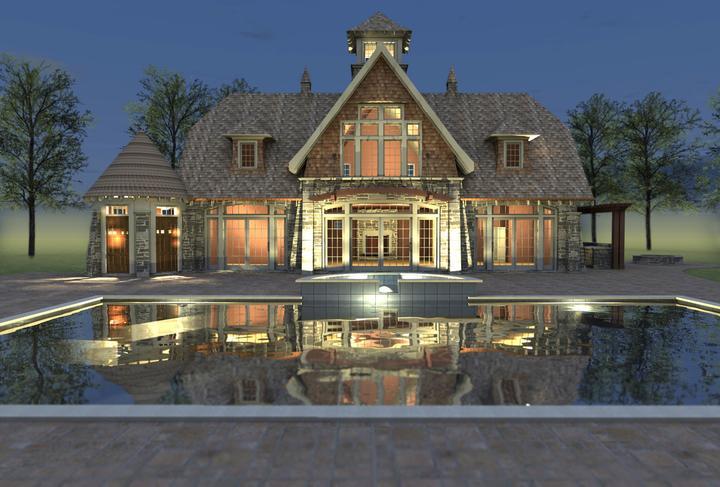 Dom s bazenom, alebo bazen s domom? - Obrázok č. 89