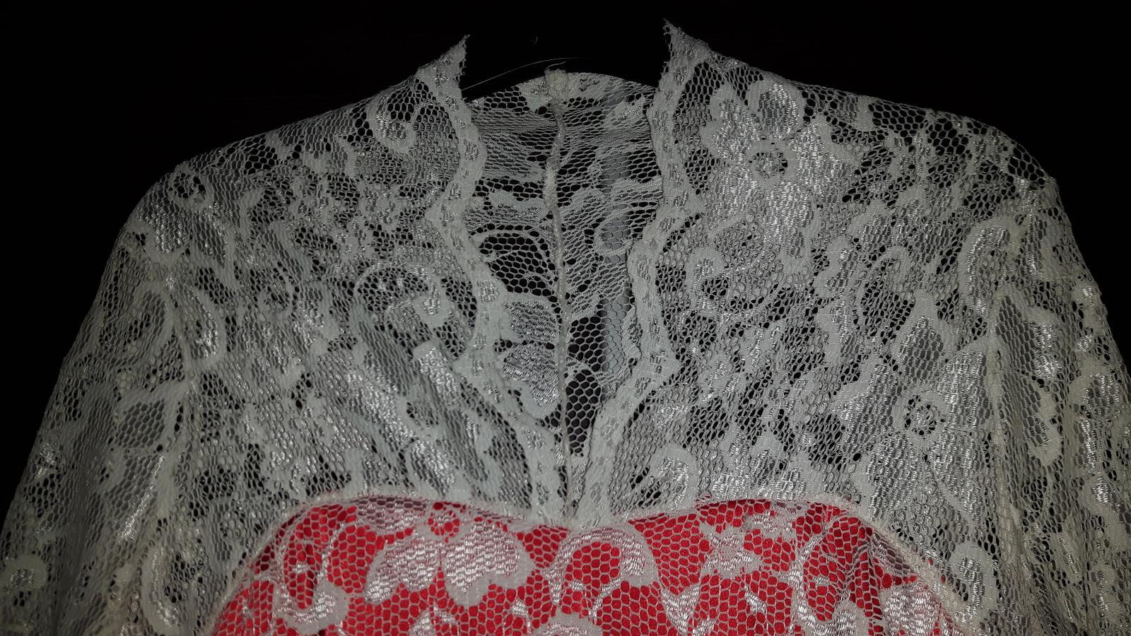 Čipkované šaty - Obrázok č. 1