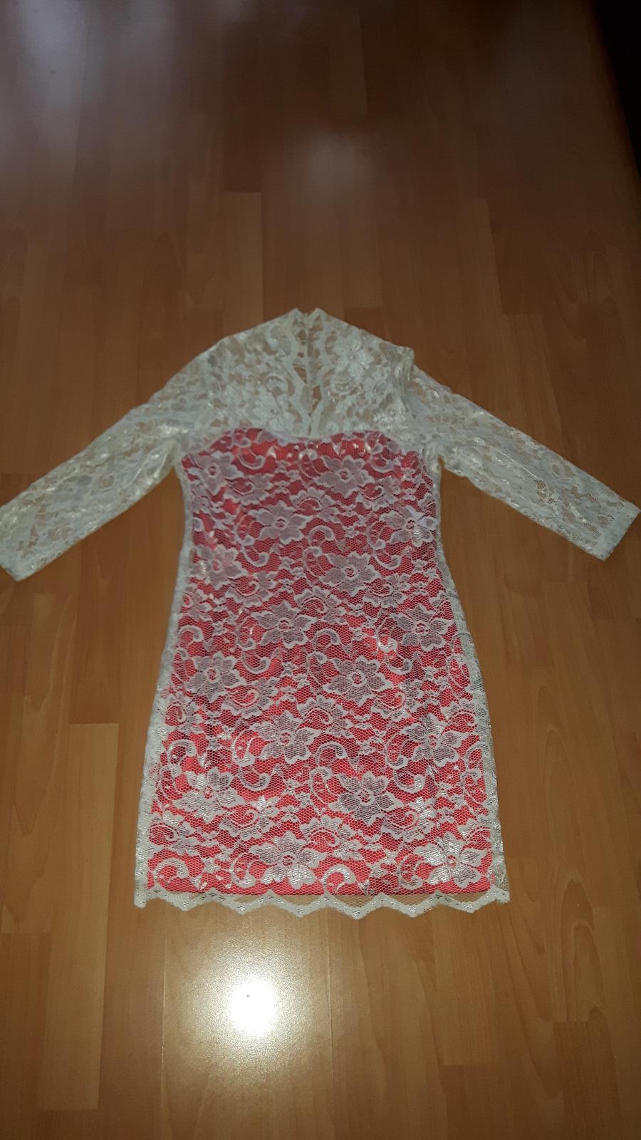 Čipkované šaty - Obrázok č. 2