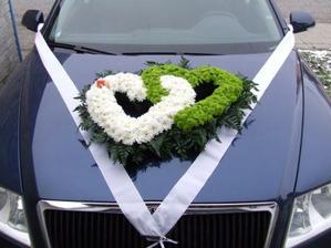 Auto nevěsty.
