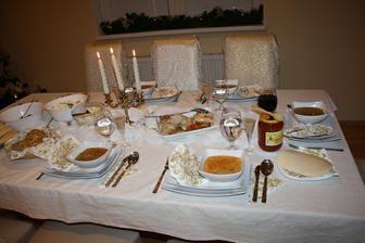 Vianočný stôl 2011