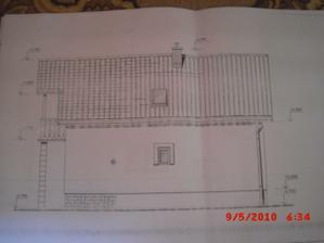 projekt domu - pohlad od suseda