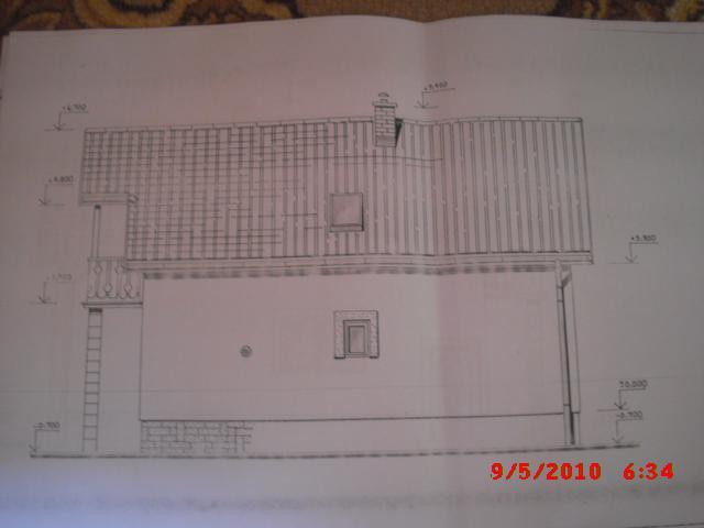 Náš domček, naša radosť a starosť ............... - projekt domu - pohlad od suseda