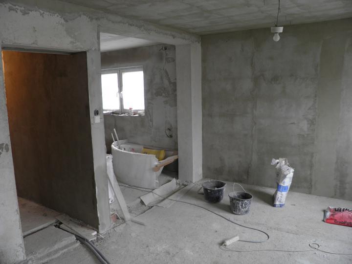 Náš domček, naša radosť a starosť ............... - kuchyna so vstupom do chodby