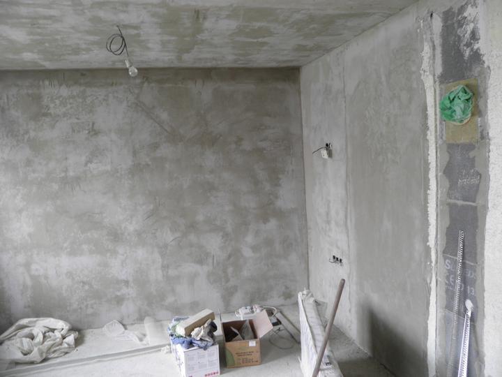Náš domček, naša radosť a starosť ............... - obývačka a komín pre krb