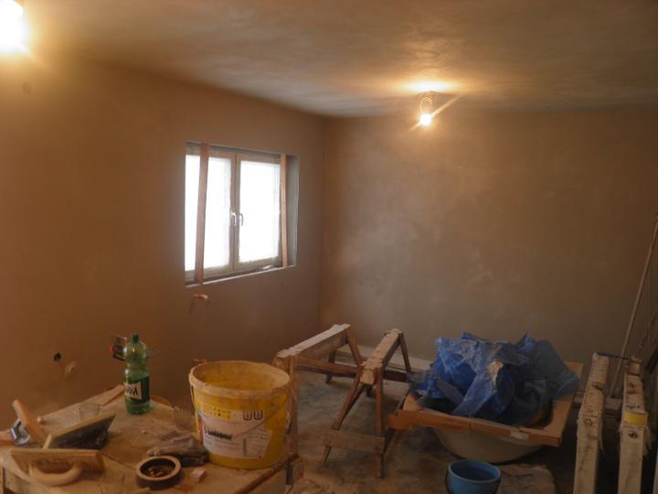 Náš domček, naša radosť a starosť ............... - obývačka vystierkovaná