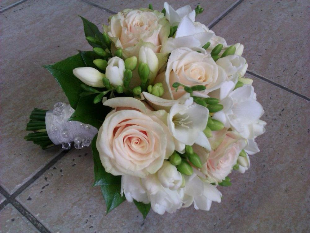 Realizácia mojich detských snov :D - svadobná kytička
