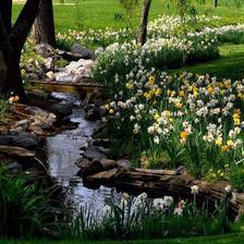 joj este keby tiekol potok cez zahradu.....