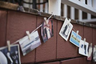 na staré rodinné fotky a na střípky z našich společných 7 let