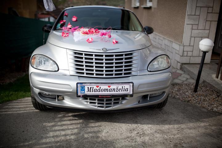Martina{{_AND_}}Martin - svadobné autíčko