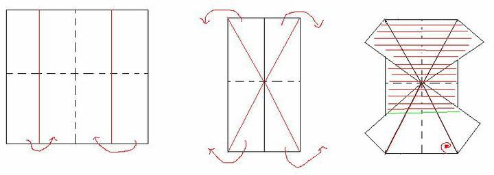 Skladanie servitok-Motyl - Obrázok č. 2