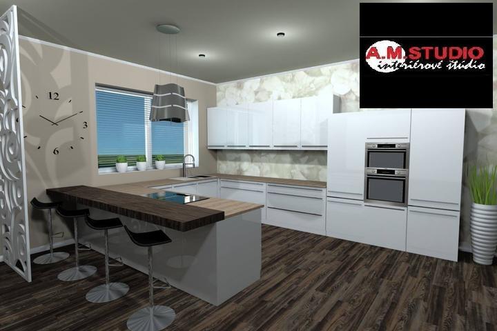 Ked raz budem velka, budem mat takuto peknu kuchynu podla vizualizacie od @amstudio :-) - Obrázok č. 1