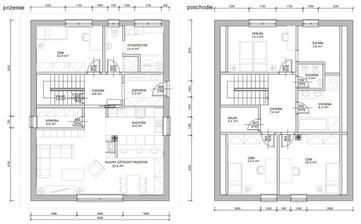 Riešime projekt nášho domu. Zatiaľ sme sa dopracovali k takémuto riešeniu. Čo vy na to?